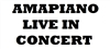 AMAPIANO LIVE IN CONCERT